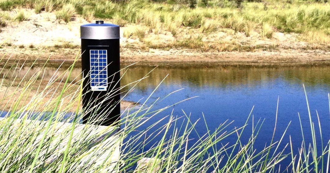 Solar meetbuis
